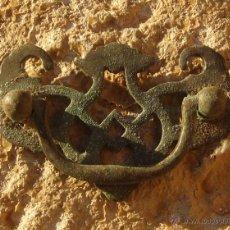 Antigüedades: TIRADOR ESTILO MODERNISTA. Lote 48114995