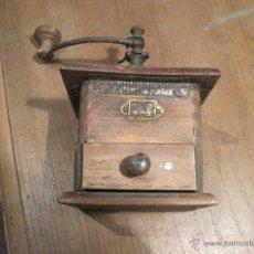 Antigüedades: MOLINILLO DE CAFÉ ANTIGUO MARCA GOLDENBERG. Lote 48130863
