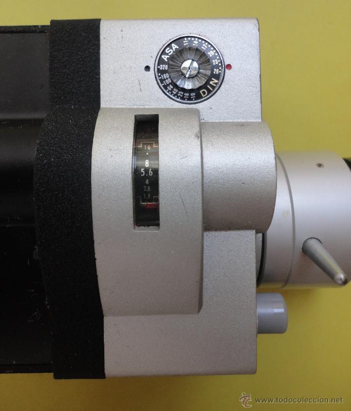 Antigüedades: CINELAND ED 20 ZOOM 8. EN SU ESTUCHE ORIGINAL - Foto 4 - 48155609