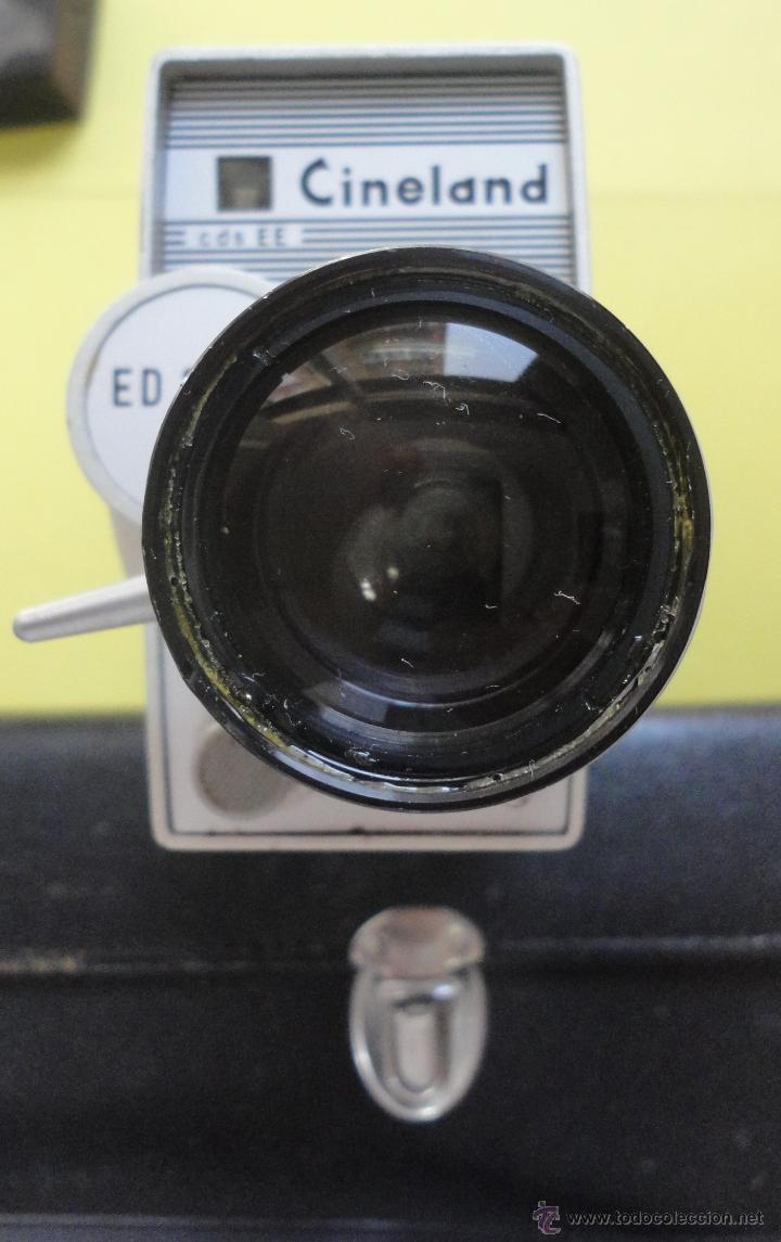 Antigüedades: CINELAND ED 20 ZOOM 8. EN SU ESTUCHE ORIGINAL - Foto 5 - 48155609