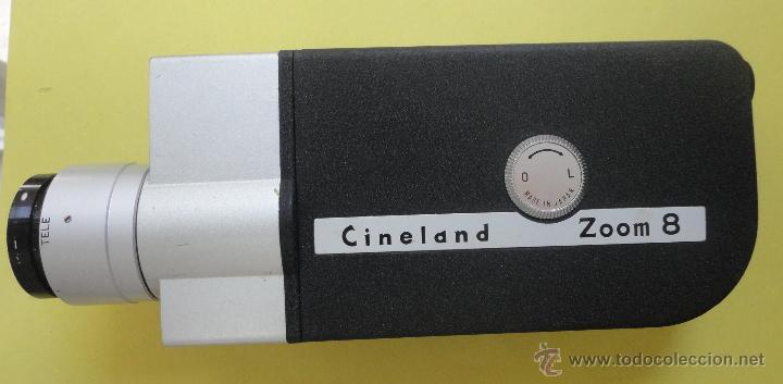 Antigüedades: CINELAND ED 20 ZOOM 8. EN SU ESTUCHE ORIGINAL - Foto 6 - 48155609