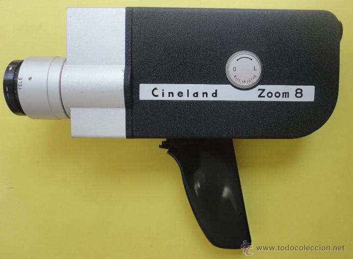 Antigüedades: CINELAND ED 20 ZOOM 8. EN SU ESTUCHE ORIGINAL - Foto 8 - 48155609