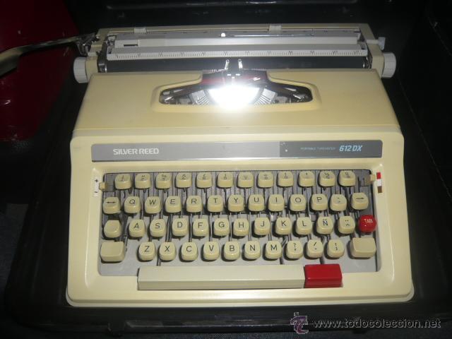 MAQUINA ESCRIBIR SILVER REED (Antigüedades - Técnicas - Máquinas de Escribir Antiguas - Otras)