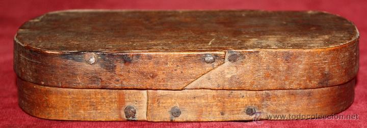 Antigüedades: ANTIGUA BALANZA DE PRECISION, PARA CAMBISTAS DE MONEDA DE ORO Y PLATA. SIGLO XVIII - Foto 3 - 48279232
