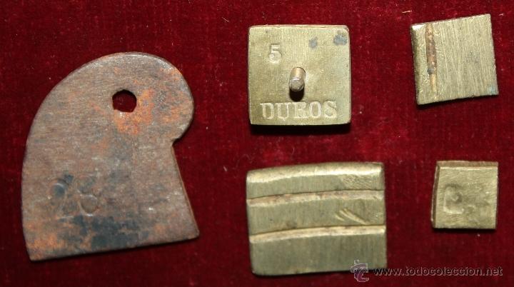 Antigüedades: ANTIGUA BALANZA DE PRECISION, PARA CAMBISTAS DE MONEDA DE ORO Y PLATA. SIGLO XVIII - Foto 8 - 48279232