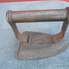 Antigüedades: ANTIGUA PLANCHA DE HIERRO. 3 - F. Lote 48363125