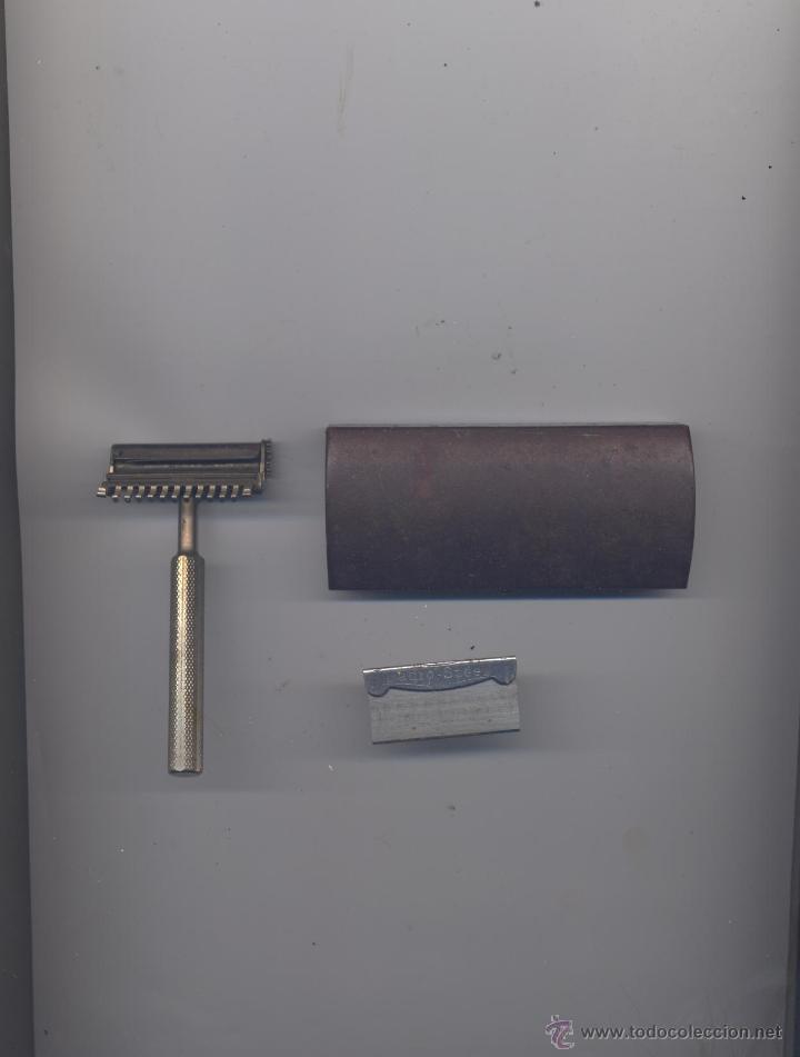 ANTIGUA MAQUINA DE AFEITAR- VALET (Antigüedades - Técnicas - Barbería - Maquinillas Antiguas)