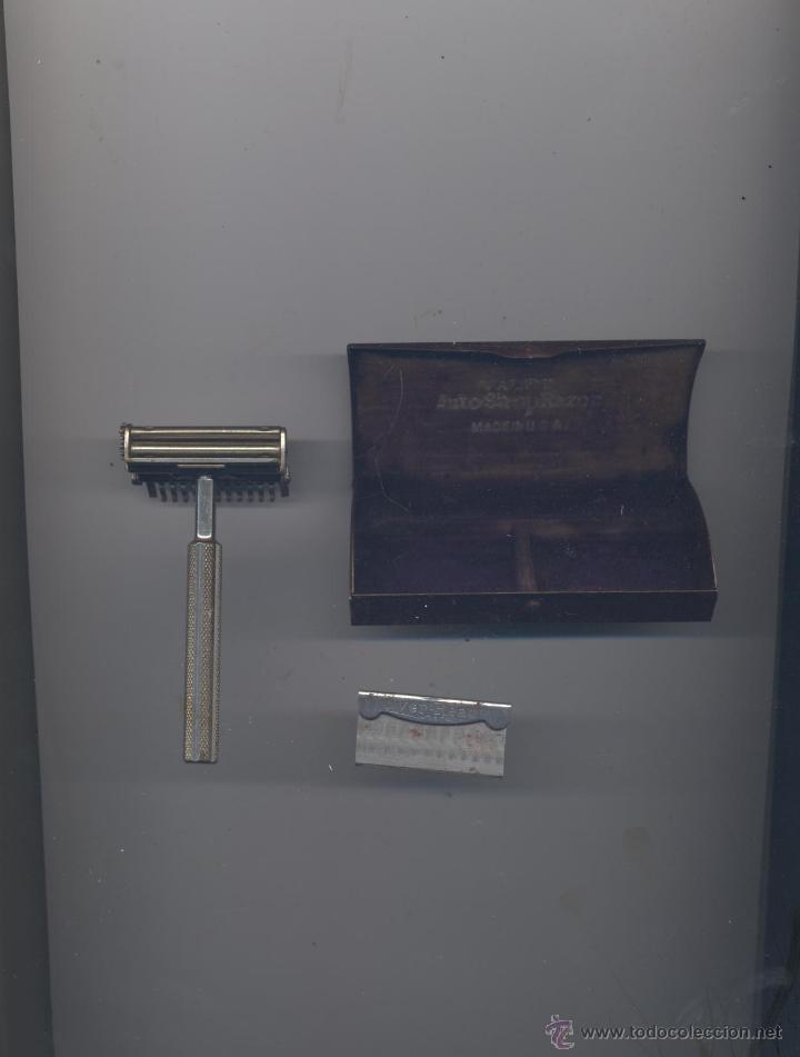 Antigüedades: ANTIGUA MAQUINA DE AFEITAR- VALET - Foto 2 - 48444757