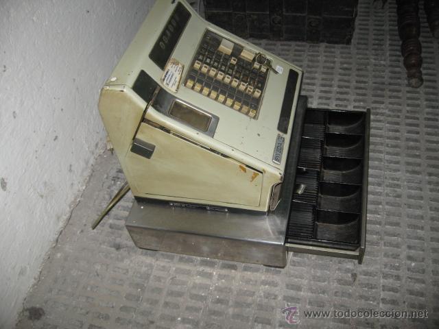 Antigüedades: Caja registradora Sweda - electrica y manual - funcionando - - Foto 2 - 48462072