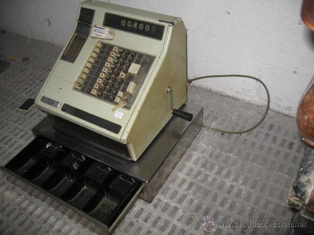 Antigüedades: Caja registradora Sweda - electrica y manual - funcionando - - Foto 3 - 48462072