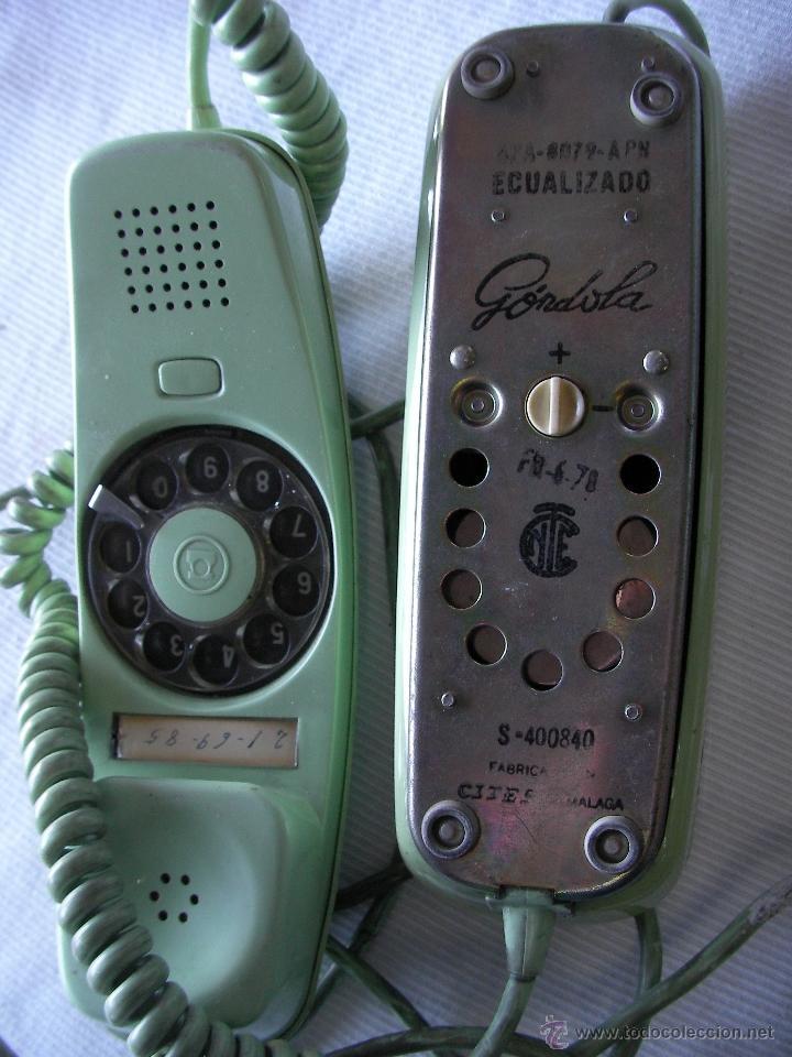Teléfonos: ANTIGUO TELEFONO GONDOLA - Foto 3 - 48469942