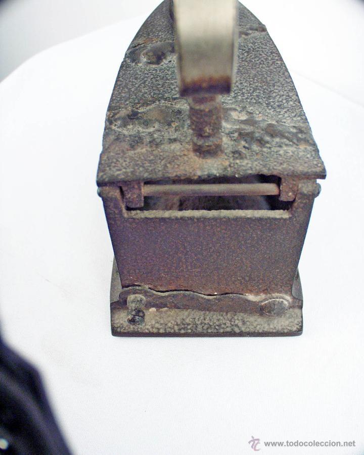 Antigüedades: PLANCHA DE HIERRO FUNDIDO DEL GALLO - Foto 3 - 48486160