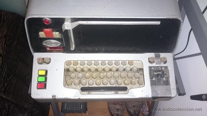 TELEGRAFO IMPRESOR - TELETIPO TECOSA (Antigüedades - Técnicas - Varios)