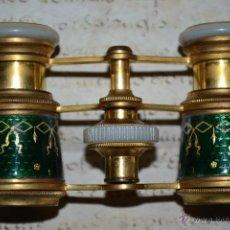 Antigüedades: PRECIOSOS PRISMATICOS DE ESMALTE Y NACAR,CARPENTIER,PARIS,S. XIX. Lote 48504892