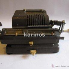 Antigüedades: CALCULADORA MOLINETE IRIS +- 1945. FUNCIONANDO PERFECTAMENTE.. Lote 48520108