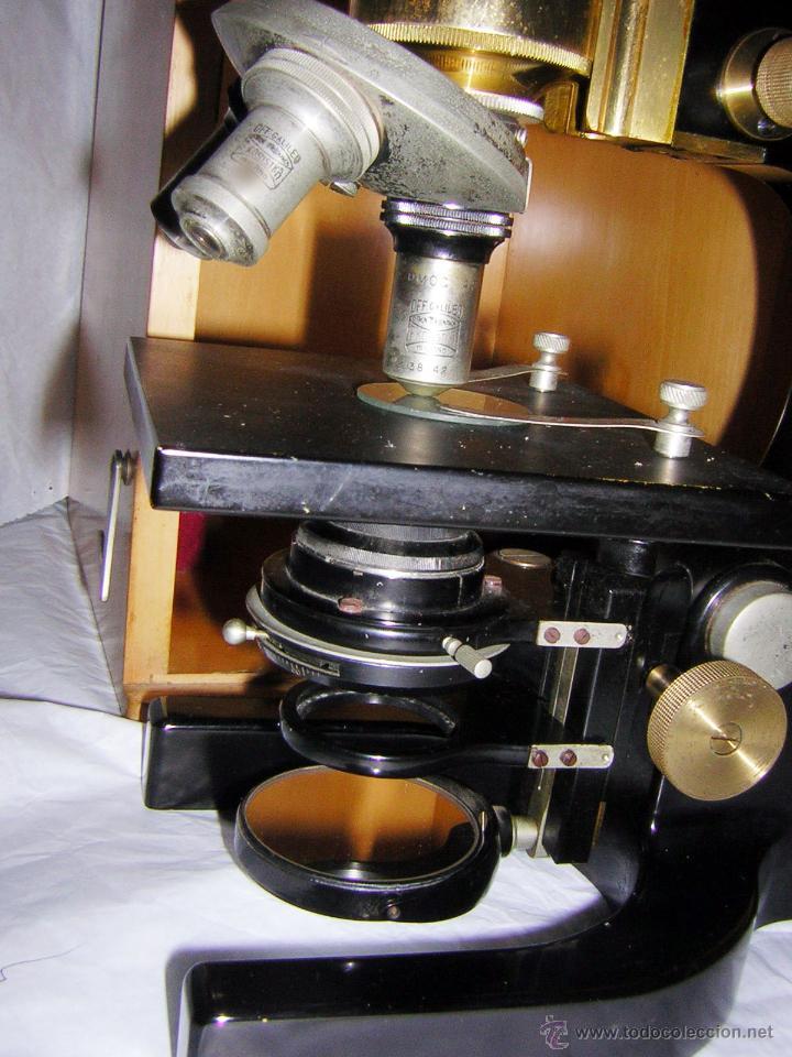 Antigüedades: MICROSCOPIO ANTIGUO, 1900/1920, F. KORISTKA, MILANO - Foto 4 - 48634783