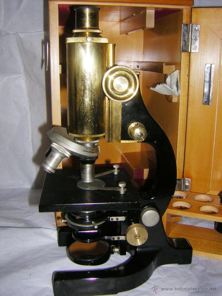 Antigüedades: MICROSCOPIO ANTIGUO, 1900/1920, F. KORISTKA, MILANO - Foto 8 - 48634783