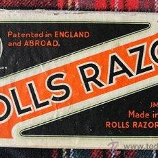 Antigüedades: ROLLS RAZOR - ANTIGUA MAQUINILLA DE AFEITAR Y AFILAR - MOD IMPERIAL Nº 2 - MADE IN ENGLAND. Lote 48666783