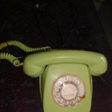Teléfonos: TELEFONO DE MESA . COLOR VERDE CLARO. ¡¡FUNCIONANDO!!. CITESA-MÁLAGA. RF.233828. Lote 48694526