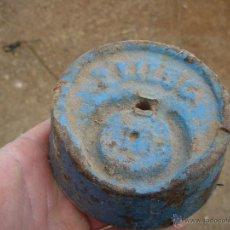 Antigüedades: PESA DE DOS KILOS. Lote 48733961