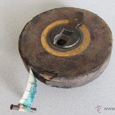 Antigüedades: CINTA METRICA. Lote 48735002
