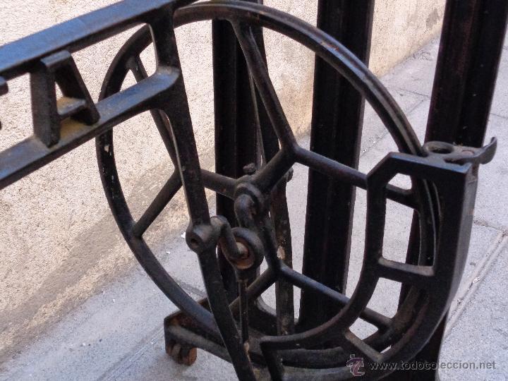 Antigüedades: PIE MÁQUINA COSER ALFA - Foto 4 - 48740213