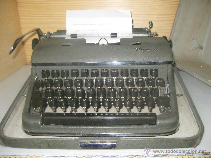 OLYMPIA -LETRA PEQUEÑA- (Antigüedades - Técnicas - Máquinas de Escribir Antiguas - Olympia)