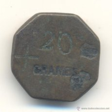 Antigüedades: BONITA PESA OCTOGONAL MALLORCA VALOR: 20 GRAMOS. PESA 19,1 GRAMOS.. Lote 48754845