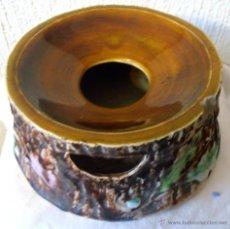 Antigüedades: ESCUPIDERA DE CERAMICA MUY ANTIGUA. Lote 48761457