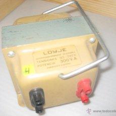 Antigüedades: AUTOTRANSFORMADOR REVERSIBLE. Lote 48761611