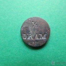 Antigüedades: PONDERAL DE 1/2 DRAM FARMACEUTICO. Lote 48826259