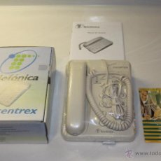 Teléfonos: BBB TELEFONICA TELEFONO FORMA CENTREX NUEVO A ESTRENAR EN CAJA Y EMBALAJE ORIGINAL AÑO 2000. Lote 48891869