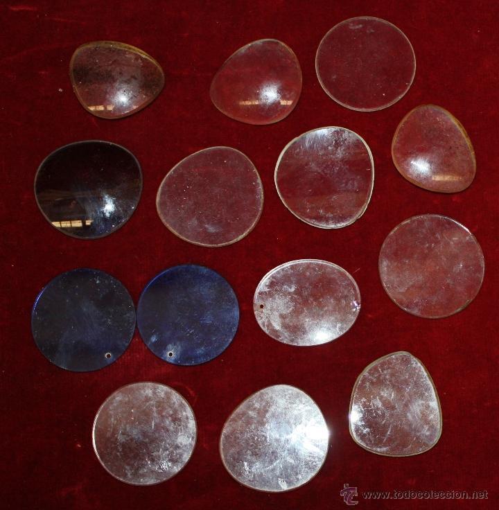 Antigüedades: LOTE DE VARIAS GAFAS, ESTUCHES, CRISTALES... ETC TODO ANTIGUO - Foto 3 - 48916001