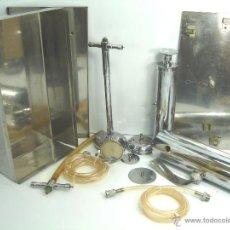 Antigüedades: CURIOSO APARATO DE TRANSFUSION PORTATIL - JOE - INSTRUMENTAL MEDICO - SANGRE. Lote 48990187