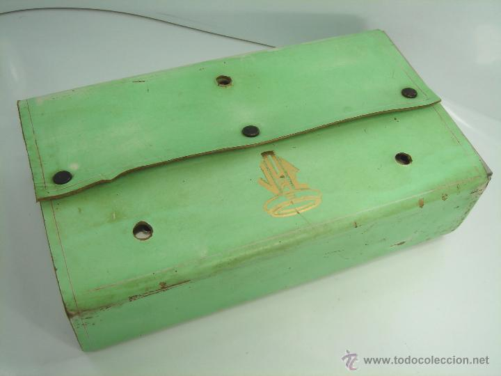 Antigüedades: CURIOSO APARATO DE TRANSFUSION PORTATIL - JOE - INSTRUMENTAL MEDICO - SANGRE - Foto 10 - 48990187
