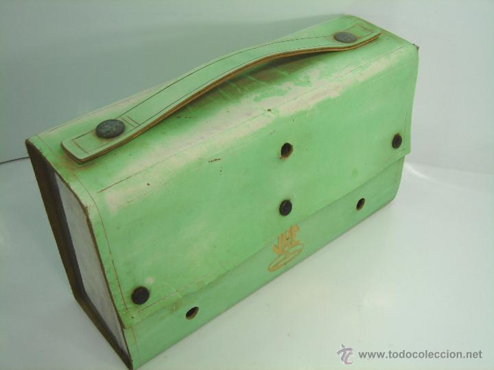 Antigüedades: CURIOSO APARATO DE TRANSFUSION PORTATIL - JOE - INSTRUMENTAL MEDICO - SANGRE - Foto 11 - 48990187