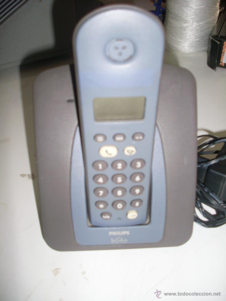 TELEFONO INALAMBRICO PHILIPS (Antigüedades - Técnicas - Teléfonos Antiguos)