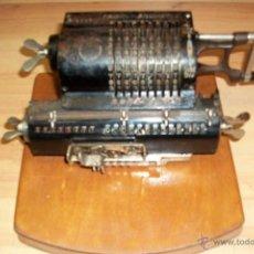 Antigüedades: ANTIGUA CALCULADORA BRUNSVIGA TRINKS- AÑO 1910-ALEMANA. Lote 49003190