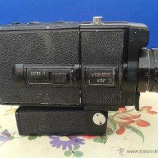 Antigüedades: CAMARA DE VIDEO VONET 53F SUPER 8 MM. REFLEX ZOOM LENS. Lote 49029925