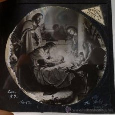 Antigüedades: 6 CRISTALES PARA LINTERNA MÁGICA. Lote 49032295