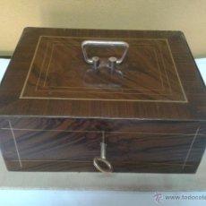 Antigüedades: CAJA DE CAUDALES AÑOS 50. Lote 49051206