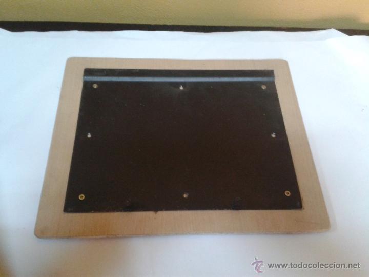 Antigüedades: placa para anclaje en mesa - Foto 4 - 49051206