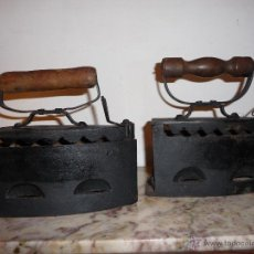 Antigüedades: PAREJA DE PLANCHAS ANTIGUAS.. Lote 49140694