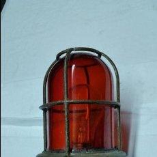 Antigüedades: FAROL O FOCO DE BARCO ANTIGUO EN BRONCE,AÑOS 60 APROX. Lote 49142419