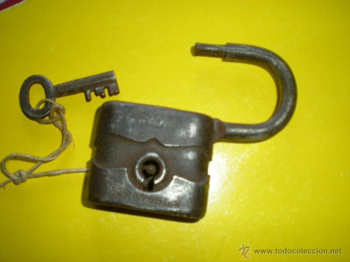 Antigüedades: BONITO CANDADO ANTIGUO - Foto 2 - 49190584