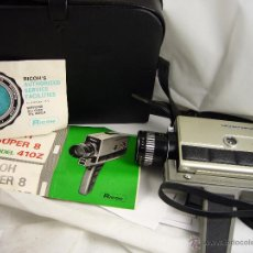 Antigüedades: GRAVADORA RICOH SUPER 8 MODEL 410Z. Lote 49204831