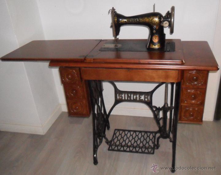 Antigua maquina de coser singer - Vendido en Venta Directa