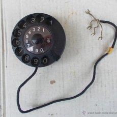 Teléfonos: DIAL DE TELEFONO SIEMENS W48 EN FUNCIONAMIENTO, RECAMBIO ORIGINAL PARA TELEFONO ANTIGUO ,,,TEL365. Lote 49244351