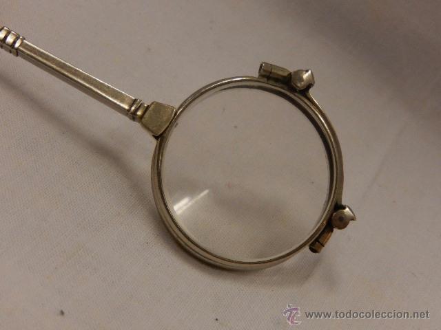 Antigüedades: Gafas de teatro, del tipo impertinente. Principios siglo XX. - Foto 7 - 49260650
