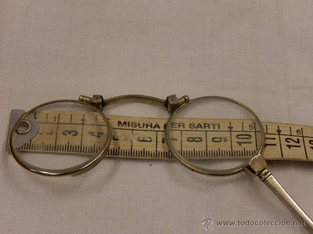 Antigüedades: Gafas de teatro, del tipo impertinente. Principios siglo XX. - Foto 9 - 49260650